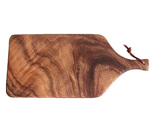 NANXCYR Pizza BoardPizza piatto vassoio in legno bistecca piatto tagliere di frutta tagliere rettangolare pane giapponese famiglia