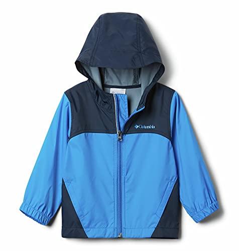 Columbia Boys Glennaker Rain Jacket, Hyper Blue, Small