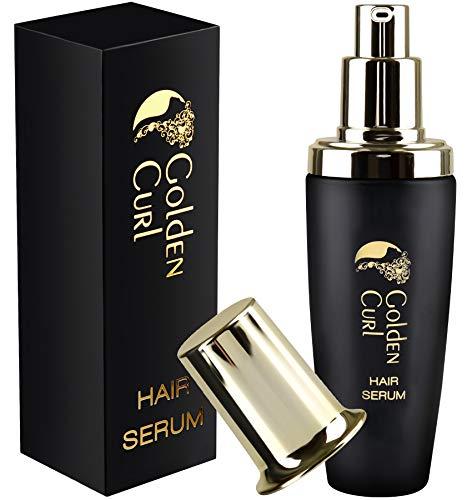 Golden Curl Vegan Marokkanisches Arganöl - Haar Serum Haarpflegeprodukt einzigartige Formel, Argan Oil Haar Öl für intensive Haarpflege
