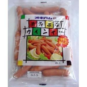 ポキポキウィンナー 260g×5P オキハム 豚肉・鶏肉をベースにしたスモークウィンナー ポキポキとした歯ごたえとジューシーなおいしさ お弁当やおつまみに