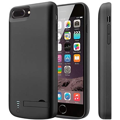 Funda Batería para iPhone 8 Plus Funda Cargador Portatil Batería Externa Recargable Carcasa Batería [5.5 Pulgadas] | 8000mAh iPhone 6S Plus/6 Plus/7 Plus/8 Plus Funda con Batería
