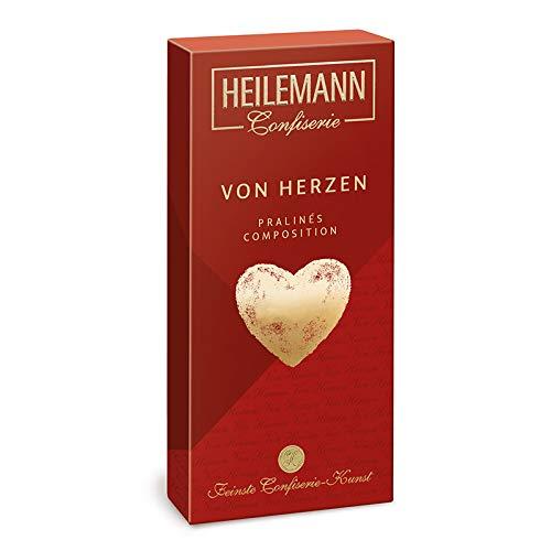 """Heilemann Muttertag Geschenk Praliné Composition """"Von Herzen"""", 95g"""