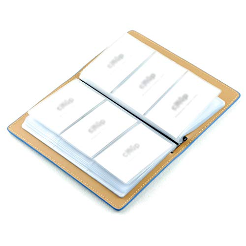 Business Name Card Case Business Card Holder Men's Business Card Book Large-Capacity Creative Ladies Business Card Book Office Business Card Set Card Book Professional Business Card Case Photo #3