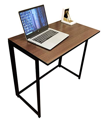 Savya home­® Multi-Purpose Folding Table/Study Table/Woodwork from Home/Office Table/Computer Table/Table/No Assembly tableen Foldable Table/