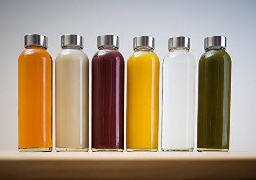 Epica 18-Oz. Glass Beverage Bottles, Set of 6 (Beverage Glasses) |