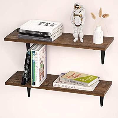 MOCOMAX Floating Shelves for Wall, Wall Mounted...