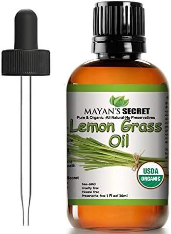 Top 10 Best lemongrass essential oil 1 oz Reviews