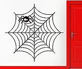 Wall Sticker Vinyl Decal Spider Web Net Funny Decor Cool Decor (vs2421)