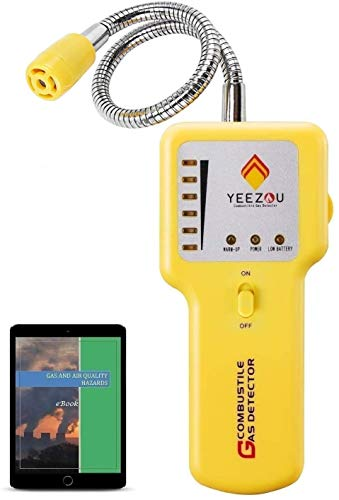 Propane and Natural Gas Leak Detector; Portable Gas Sniffer...