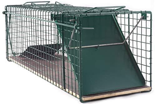 123jagd 80x26x28cm stabile Katzenfalle Marderfalle Lebendfalle Tierfalle