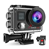 Campark ACT76 Action Cam 4K WiFi 16MP Ultra HD Sport Action Camera con Dual Screen Telecomando 170°...