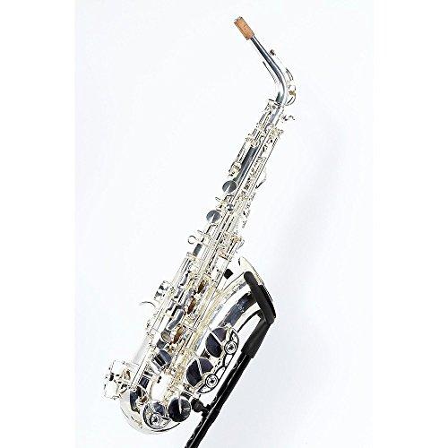 Selmer SAS280 La Voix II Alto Saxophone Outfit Level 2 Silver Plated 190839084651