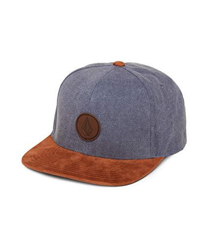 Volcom Herren Baseballmütze Quarter Fabric, Stormy Blue, One Size
