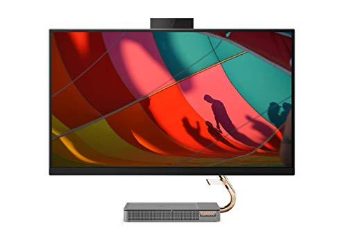 Lenovo IdeaCentre AIO A540 68,6 cm (27 Zoll, 2560x1440, QHD, IPS) All-in-One Desktop-PC (Intel Core i5-9400T, 8 GB RAM, 512 GB SSD, AMD Radeon RX 560X, Wifi, Windows 10 Home) grau