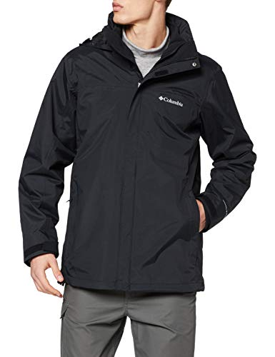 Columbia Herren Mission Air Interchange-Jacke Mission Air, Schwarz, Schwarz, M