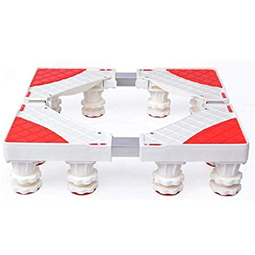 HIZLJJ Base de Lavado automático Nevera Multi-Funcional Soporte del Tubo Doble Base 12 pies Fuertes