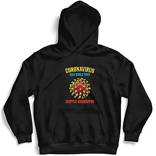 Cooronavirus 2020 World Tour Seattle Washington Tee For Men – Hot Vintage Retro Classic Hoodie For Women Córónávírús 2020 World Tour Best Tee Customiz Hoodie 5065