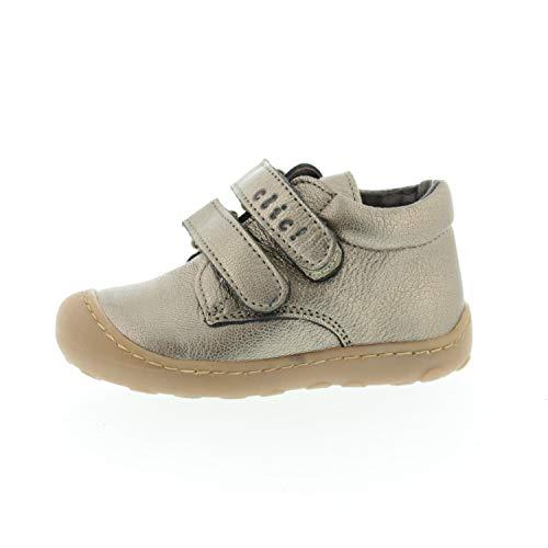 Clic! Zapatos Bebé Velcro Galaxy Mat Iron CL9294, color, talla 20 EU