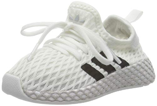 adidas Deerupt Runner I, Scarpe da Fitness, Bianco (Blanco 000), 25 EU