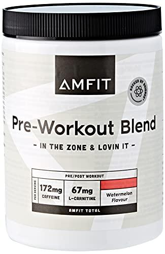 Amazon-Marke: Amfit Nutrition Vor dem Training, Wassermelonengeschmack, 360g