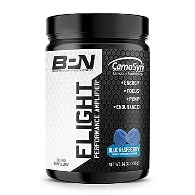 Bare Performance Nutrition, Flight Pre Workout, Energy, Focus & Endurance, Formulated with Caffeine Anhydrous, DiCaffeine Malate, N-Acetyl Tyrosine