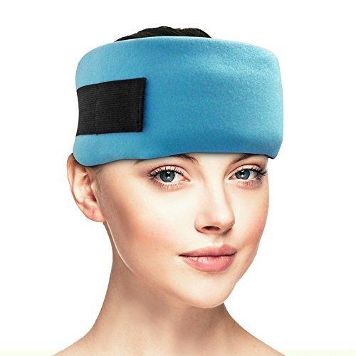 Dynamik Products - Envoltura para cabeza de migraña, alivio del dolor de cabeza, dolor de cabeza y dolor de cabeza