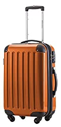 hard-sided carry-on suitcase