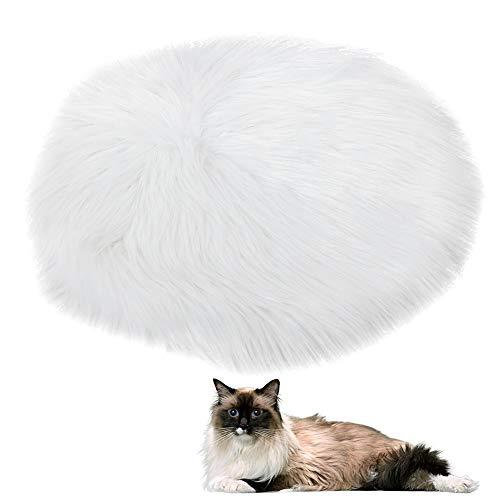 Yinuoday Almohadilla Térmica para Mascotas Colchoneta de Felpa para Gatos Pequeños Colchón...