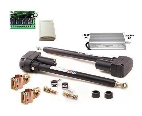 automatiquement gesteuerts 2-flügeliges porte, Trafo 24V, Contrôleur 4 canaux