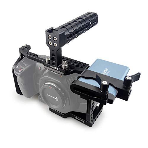 MAGICRIG BMPCC 4K / BMPCC 6K Camera Cage Kit for Blackmagic Design Pocket Cinema Camera 4K / 6K