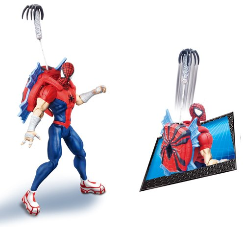 Hasbro - 37258 - Figurine - Spider-Man Movie - Spider-Man Lance Grapin