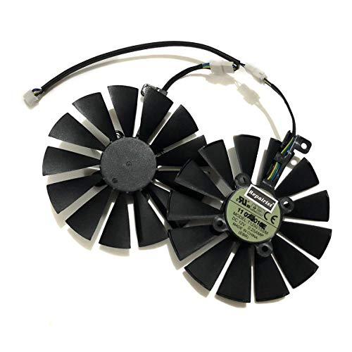 Miwaimao 2pcs/Set 95MM(100MM) T129215SM Cooler Fan For ASUS ROG Poseidon GTX1080TI P11G ASUS Strix RX470 RX570 580 Video Card Replacement