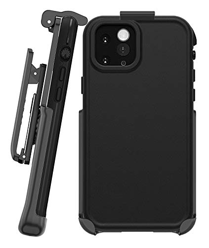 BELTRON Belt Clip for Lifeproof FRE - iPhone 11 Pro Max (Holster ONLY, case is NOT Included) Features: Secure Fit, Quick Release Latch, Durable Rotating Belt Clip & Built-in Kickstand