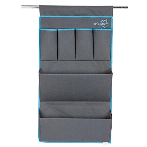 Siehe Beschreibung Wohnwagen-Organizer, Aufhängen mit 6 Fächer, aus robustem 600D-Polyester: Camping Schrank Organizer Zelt Hängeorganizer Aufbewahrung Hängeregal Türregal 2 große Fächer und 4 Taschen
