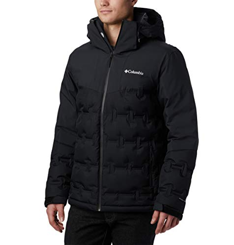 Columbia Down Jackets Men Black Medium