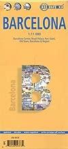 المطبوعة الفنية المغلفة برشلونة خريطة بواسطة borch (إصدار باللغة الإنجليزية)