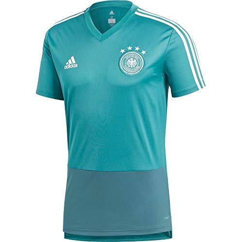 adidas Herren DFB Training Jersey Trainingstrikot, EQT Green s16/Real Teal s10/White, 3XL