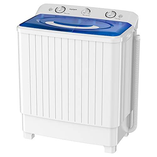 Auertech Portable Washing Machine, 28lbs Mini Twin Tub...