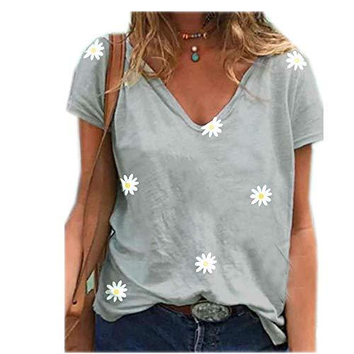 Frühjahr und Sommer Damen T-Shirt Neuheit Zou Ju bedrucktes T-Shirt Kurzarm Top