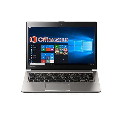 東芝 ノートPC R63/wajun(ワジュン) XR PCバッグセット/13.3型/MS Office 2019/Win 10/Core i5-6300U/Webカメラ/HDMI/Bluetooth/WIFI/8GB/512GB SSD (整備済み品)