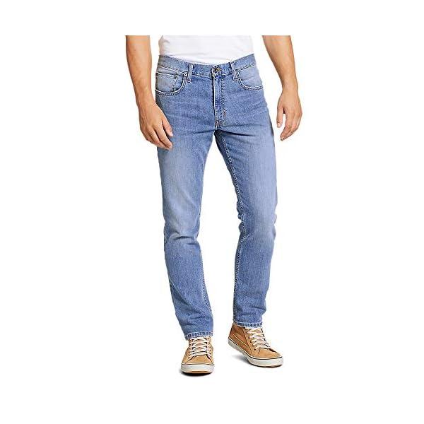 Eddie Bauer Men's Flex Jeans – Straight Fit