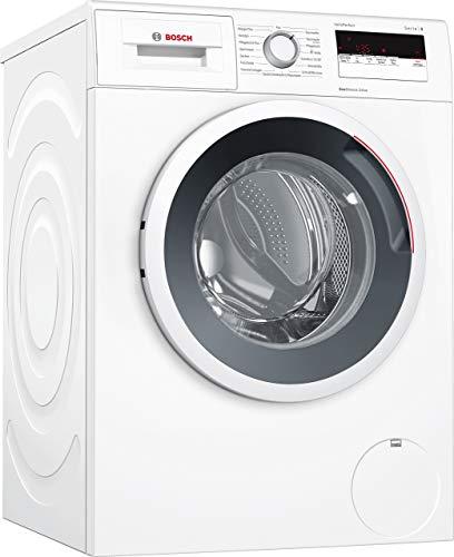 Bosch WAN28121 Serie 4 Waschmaschine Frontlader / A+++ / 157 kWh/Jahr / 1400 UpM / 7 kg / weiß / Nachlegefunktion / ActiveWater Mengenautomatik