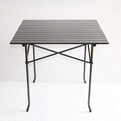 FTFTO Haushaltsprodukte Klapptisch Tragbarer Tisch für den Außenbereich Picknicktisch aus Aluminium 75 * 75 * 70 cm Schreibtische