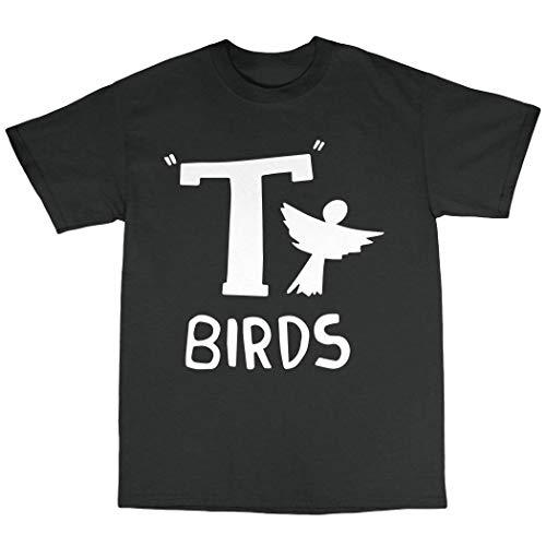 NR T-Birds T-Shirt 100% Cotton Grease Danny Zucco John Travolta Olivia Newton John