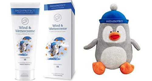 Paediprotect 2 tlg. Set Inhalt: Paediprotect medizinische Hautpflege Wind- und Wettercreme mit LSF 15