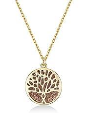 Mestige Necklace with Swarovski Crystals for Women - MFNE1007
