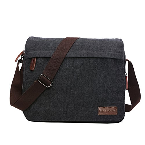 Brieftasche Messenger Bag Laptop Bag Computer hinter 14 Zoll Wallet aus Segeltuch Bag Work...