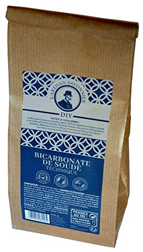 Bicarbonate de Soude Technique 500g - L'Artisan Savonnier. Le laboratoire Gravier est spécialiste depuis 1975 des ingrédients d'origine naturelle et de la fabrication d'éco-produits