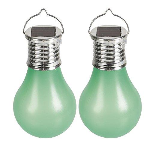SOLARLINE 403686 Ampoule Solaire Plastique, Vert, 5.7 x 5.7 x 10 cm
