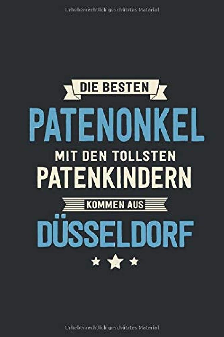 ドナウ川コスト移植Die Besten Patenonkel: kommen aus Duesseldorf - Notizbuch liniert mit 100 Seiten